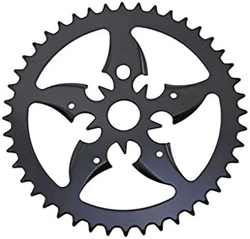 BMX Bicycle Chainring//Sprocket 1//2×1//8×44T Black