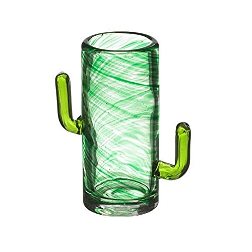 Bar Originale The Mixology Collection CACTUS Shot Schnapps Glasses Glass Set of 4 1.7 - Bar Schnapps