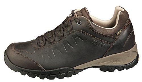 Wanderschuhe Meindl Siena Herren Gore-Tex (extra breit) (Größe / Farbe: 46,5 EU / 11,5 UK - dunkelbraun)