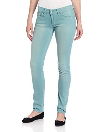 Levi's Juniors 524 Triple Needle Skinny Jean,Worn In Bay Mist,24/0 Medium