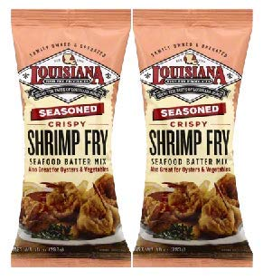 Louisiana Fish Fry Louisiana Shrimp Fry, 10 oz (Pack of 2) by Louisiana Fish Fry Products