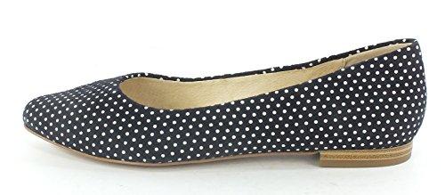 Navy für Frauen Dots Navy Caprice Dots Ballerinas 22107 qEzEtY