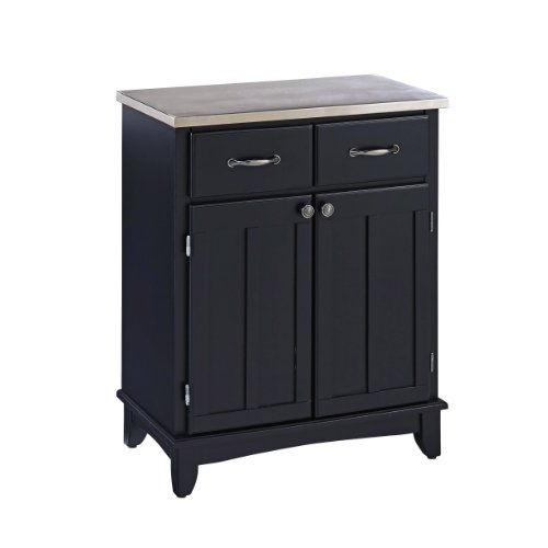 Amazon.com: Buffet Of Buffets Black With Stainless Top By