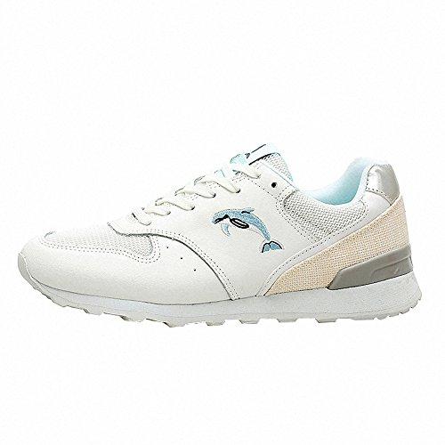 BenSports Damen Sneaker Trail Laufschuhe Turnschuhe Hallenschuhe Sportschuhe für Damen Weiß 64Bfy