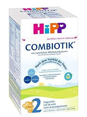Hipp Orgánico Combiotik 2 leche de continuación - a partir de los 6 meses, 6
