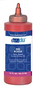 Amazon Com Yudu 12 Ounce Ink Red Screen Printing