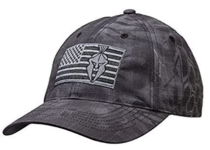 7d2d58eacd0 Image Unavailable. Image not available for. Color  Kryptek Typhon Camo  Tonal American Flag Cap