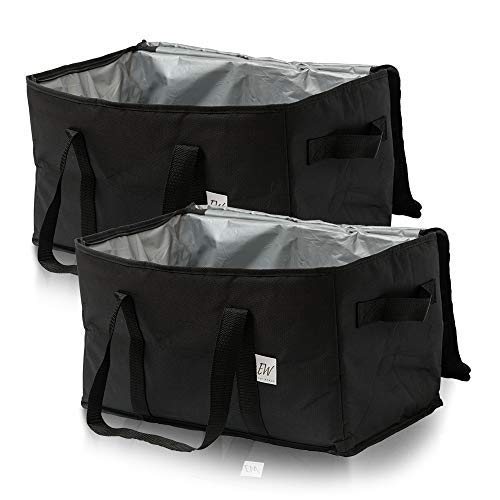 Insu-Tote Insulated Food Delivery Bag [Set of 2] - Insulated Lunch Bag