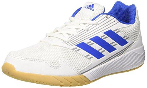 adidas Altarun, Chaussures de Running Mixte enfant Blanc (Footwear White/blue/mid Grey)