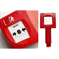 Gent Honeywell Red S4-34899 Call Point Test Key x10 by Midland Fire On-Line