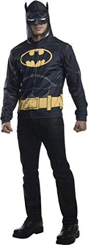Cosplay Batman Costume For Sale (Rubie's Costume Co Men's Batman Hoodie, Black, Medium/Large)