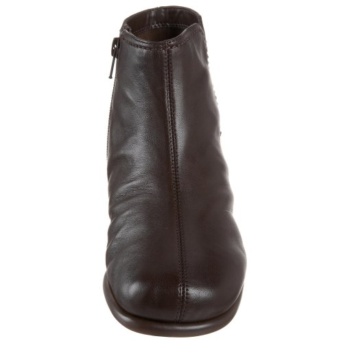 Leather Dark Trouble Aerosoles Ankle Women's Duble Boot Brown AqTvnH0x