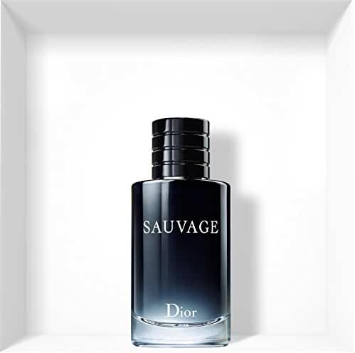 Christian Dior Sauvage for Men Eau De Toilette Spray, 3.4 Fluid Ounce