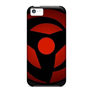 Hard Plastic Iphone 5c Case Back Cover,hot Vector Naruto Shippuden Sharingan Case At Perfect Diy