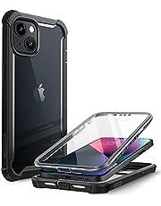 i-Blason Case Voor iPhone 13 6.1 Inch [Ares] 360 Graden Case met Geïntegreerde Screen Protector - Zwart