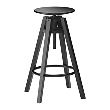 Enjoyable Ikea Dalfred Bar Stool Black Unemploymentrelief Wooden Chair Designs For Living Room Unemploymentrelieforg