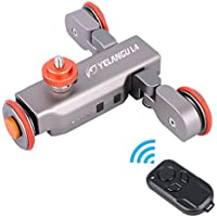 Autodolly Pro II Motorized Electric Track Slider Dolly Car 3-Wheel Video Pulley Rolling Skater with Ulanzi Mini Ball Head Gift for DSLR Camera