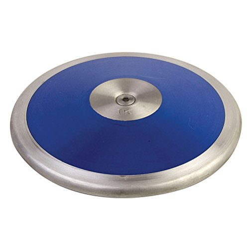 Champion Sports Low-Spin ABS Plastic Discus, 1.0 kg