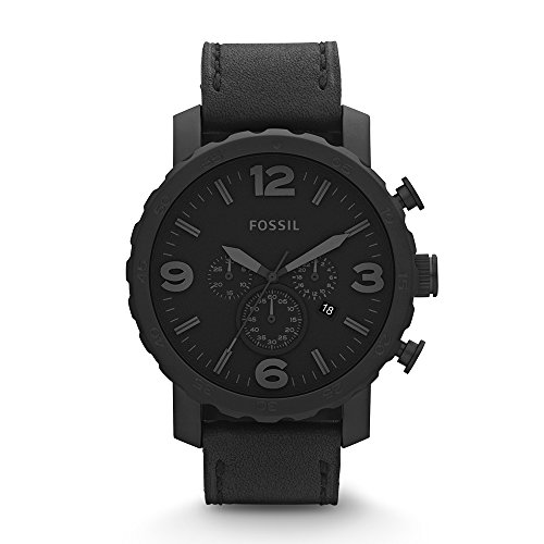 fossil-mens-jr1354-nate-stainless-steel-chronograph-watch-with-black-leather-band