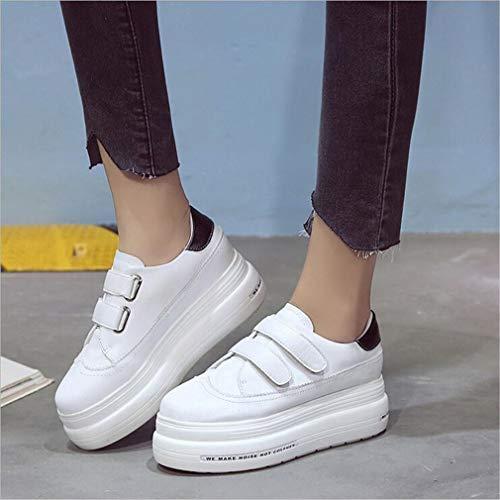 B donna da invisibile donna di Nuovo innesto Exing con spesso tendenza fondo Scarpe casual passeggio Scarpe Scarpe da Scarpe da HxOq5w5R