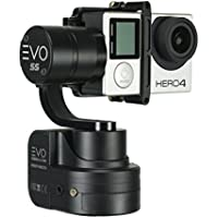 EVO Gimbals EVO SS 3 Axis Wearable Gimbal for GoPro Hero3, Hero4 and Hero5 Black, Session, Garmin Virb Ultra 30, YI 4K