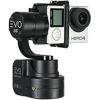 EVO Gimbals EVO SS 3 Axis Wearable Gimbal for GoPro Hero3, Hero4 or Hero5 Black, Session, Garmin Virb Ultra 30, YI 4K - 1 Year US Parts & Labor Warranty