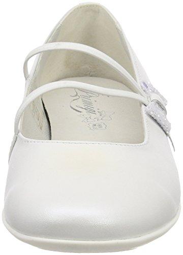 Primigi Pfr 14368, Bailarinas con Punta Cerrada Para Niñas Bianco (Bianco)