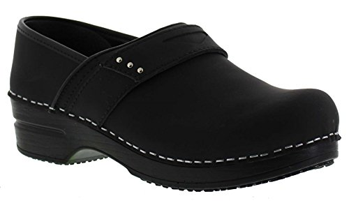 Sanita Womens Penelope, Black, 40 Medium (455396-2)