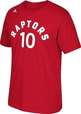 Adidas Toronto Raptors Demar DeRozan NBA Nombre y número Camiseta – Rojo, Small