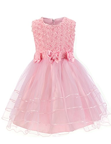 NNJXD Sleeveless Pearl Flowers Princess product image