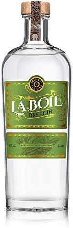 Gin La boie 700ml La Boie Sabor Botânicos selecionados 700 ml