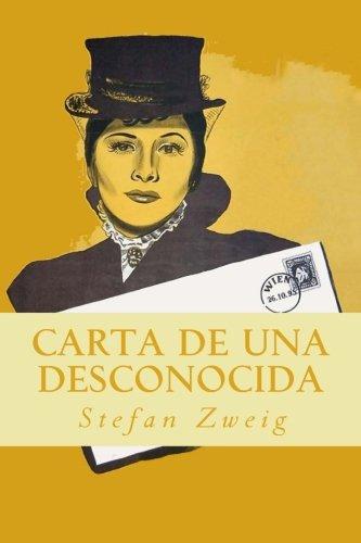 Carta de una desconocida  [Zweig, Stefan] (Tapa Blanda)