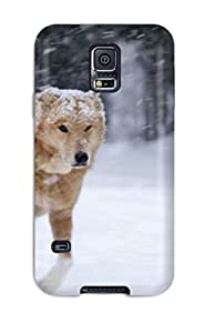 Hot New Orange Dog Case Cover For Galaxy S5 With Perfect Design