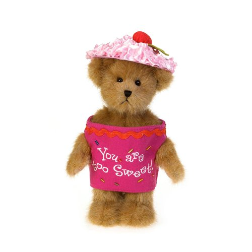 [Boyd's Bears by Enesco Collectible  Lil' Cupcake Frostin' Fluff Plush Cupcake Bear] (Lil Teddy Bear Costume)