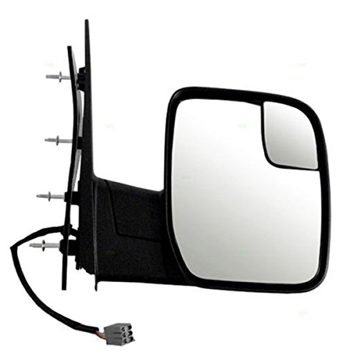 Koolzap For 10-14 E-Series Van Power Non-Heated Manual Fold Door Mirror Right Passenger Side