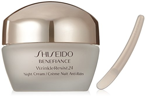 (Shiseido Benefiance Wrinkleresist24 Night Cream for Unisex, 1.7 Ounce)