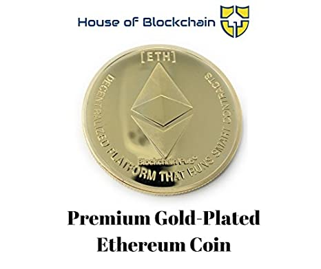 Amazon.com: Gold Ethereum Coin w/ Showcase Box - Juego de ...
