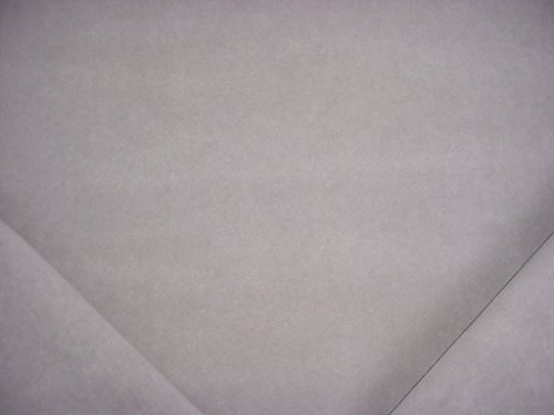 Toray Ultrasuede Ambiance in Taupe - Grey Beige Designer Faux Suede Leatherette Microfiber Upholstery Drapery Fabric - By the - Ground Tracking Fedex