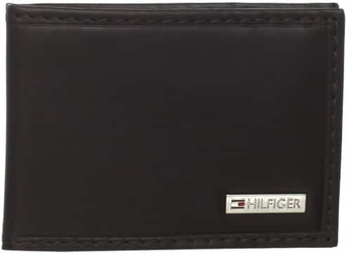 Tommy Hilfiger Men's Slim Front Pocket Wallet