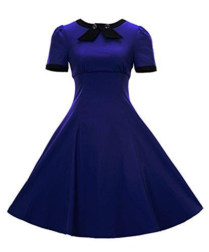 Damen kleid konigsblau