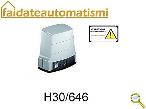 Motor para automatismos Puerta Corredera 600 kg Roger Technology: Amazon.es: Electrónica