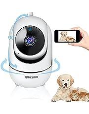 INTELIGENTE WIFI 1080P Monitor de Câmera Parágrafo Bebê Loja Gato Gato Mais Velho, de 355 Graus, 2 Interacção Vias de Voz de Detição, Câmera de Seegurança de Detecção de Movimento, visão Noturna, empurrão de Alarme