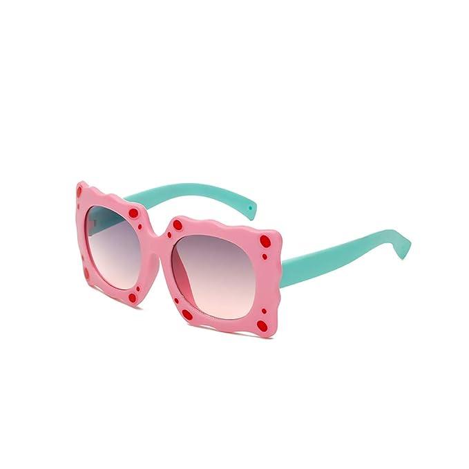 JM JM Kinder Polarisiert Gummi Runden Sonnenbrille Niedlich