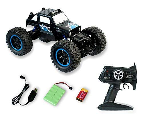 Yeezee Remote Control Car, Terrain RC Cars, Electric Remote Control Off Road Monster Truck, 20+MPH ,4WD Back Rolling Radio Control Car for Kids/Adult