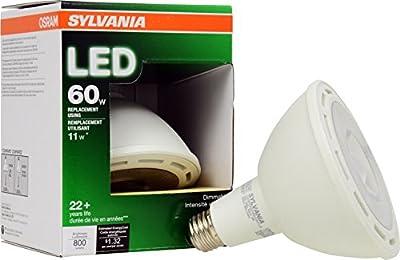Sylvania 79096 PAR38 800 Lumen Replacement for Halogen Directional Bulbs, 11W