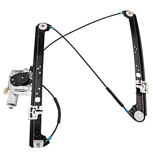 Driver Front Power Window Lift Regulator with Motor Assembly Replacement for BMW X5 2000 2001 2002 2003 2004 2005 2006