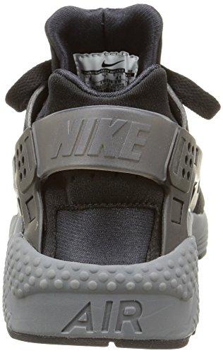 Nike Herren Air Huarache Schwarz Schwarz Dunkelgrau 010