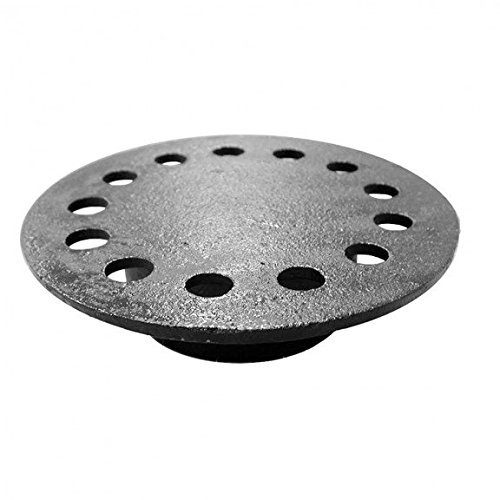 9-3/4 Replacement Strainer with Cast-in Bell for 12 x 12 Spigot Outlet Bell Trap by Jones Stephens
