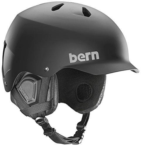 (Bern Watts EPS Helmet (Matte Black wiith Black Liner, Large))