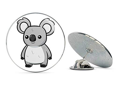 TG Graphics Adorable Wild Grey Australian Koala Bear Clipart Character Metal 0.75